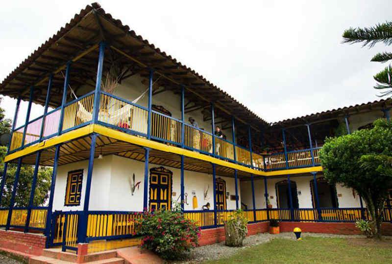 Hotel Hacienda Combia • Exterior