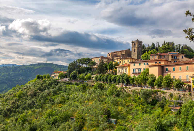 Montecatini in Tuscany, Italy