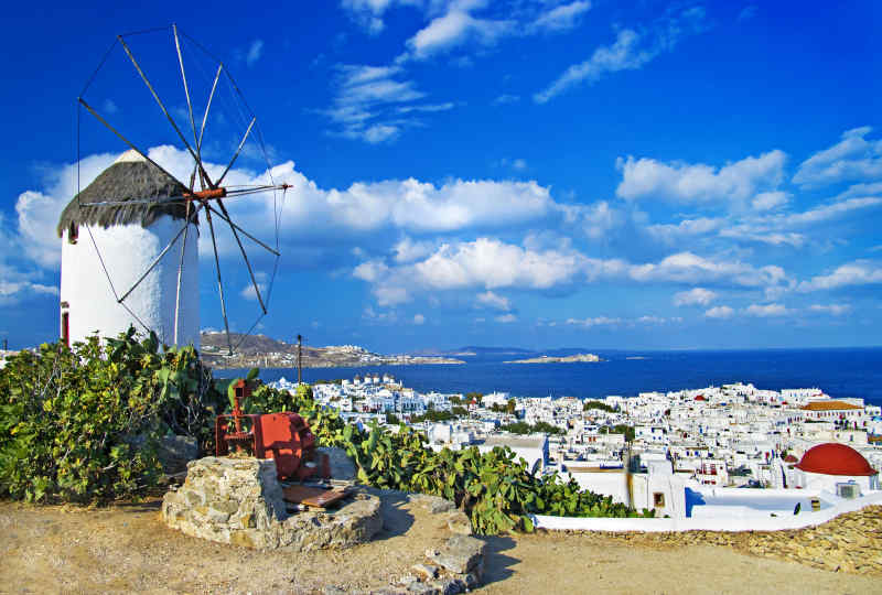 Greece Vacation Trips With Air Vacation Package To