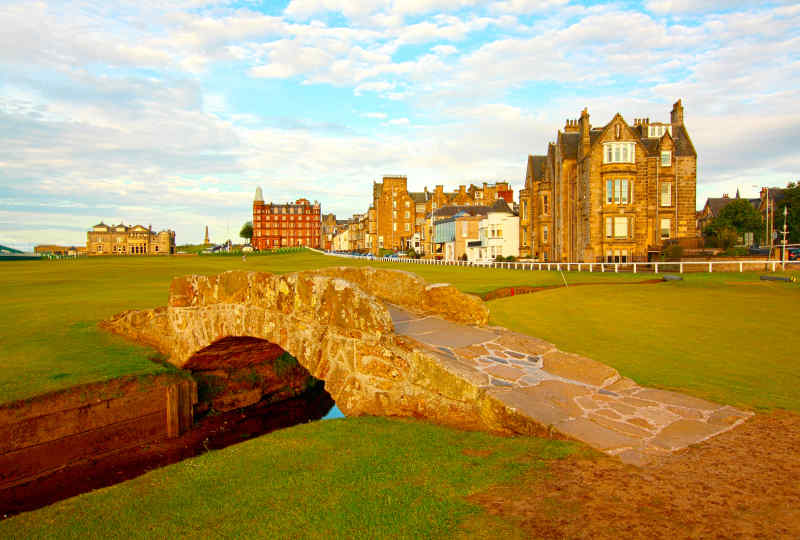 St Andrews & West Golf Vacation including Troon + Turnberry