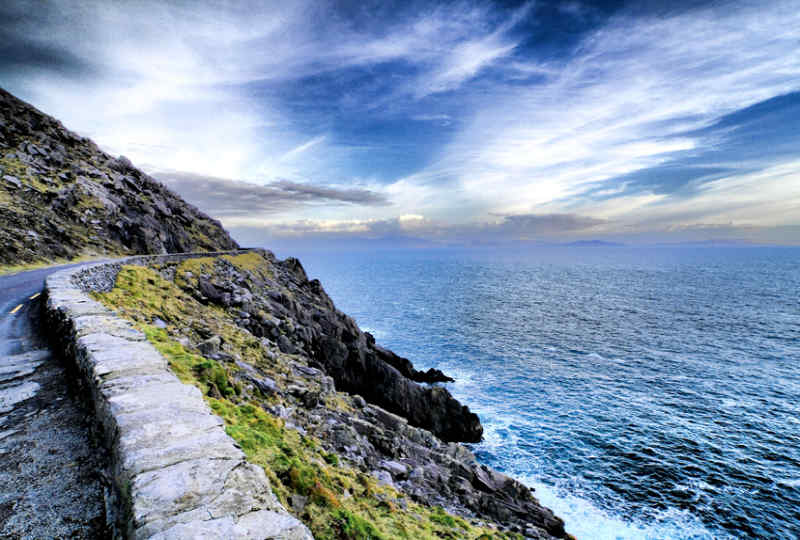 Ring of Kerry in County Kerry, Ireland