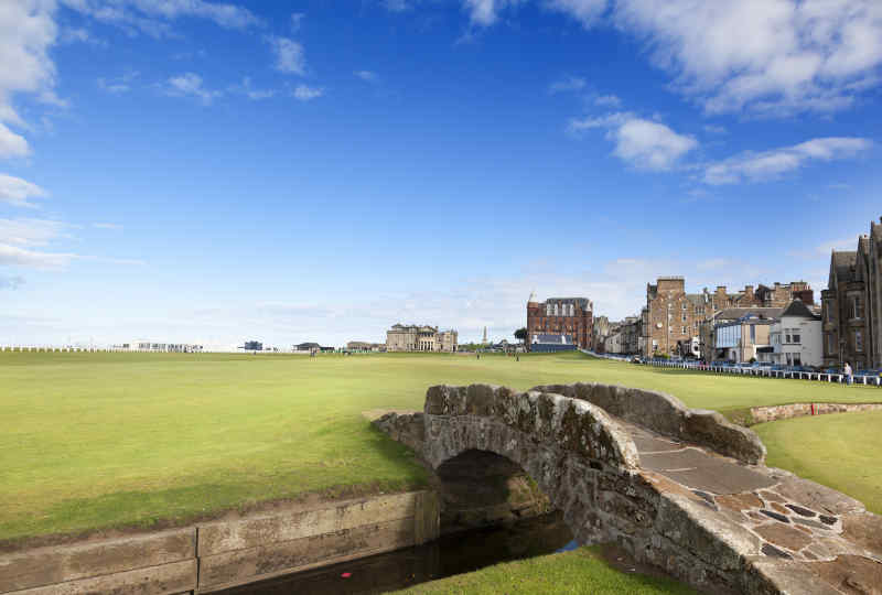 Swilken Bridge, St Andrews, Scotland