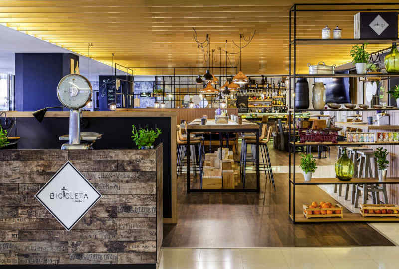 Hotel Novotel Lisboa • A Bicicleta Restaurant