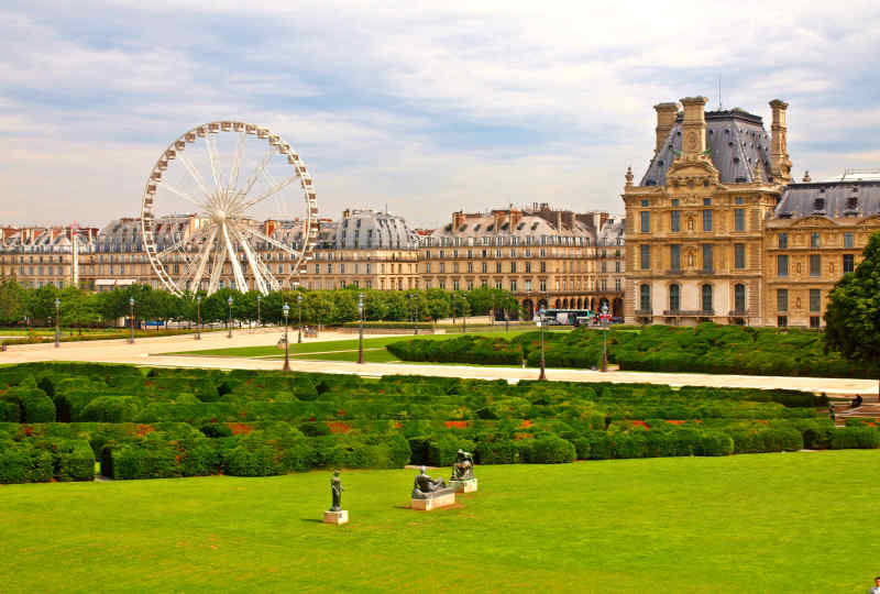 Tuileries Garden, Paris, France