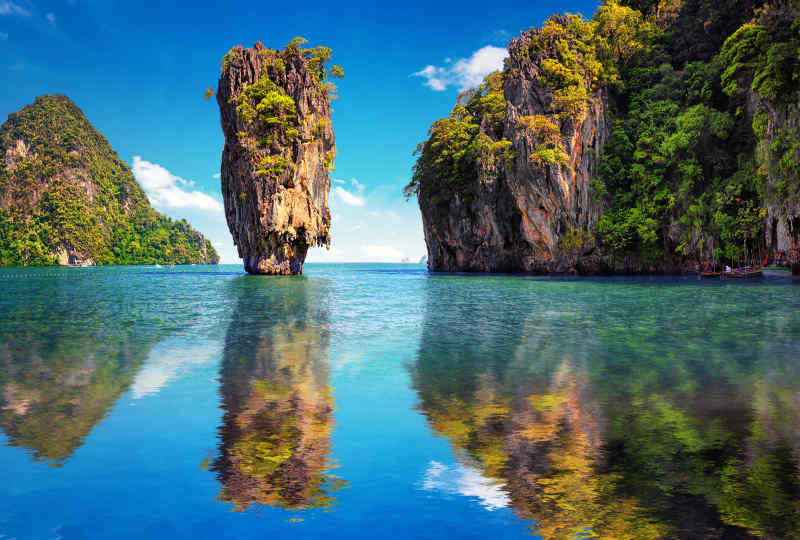 James Bond Island near Phuket, Thailand