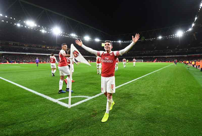 Arsenal FC at Emirates Stadium in London, England