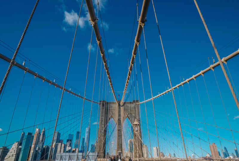 Brooklyn Bridge NY USA