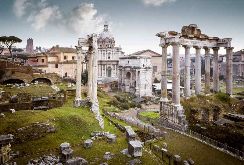 Roman Ruins • Rome