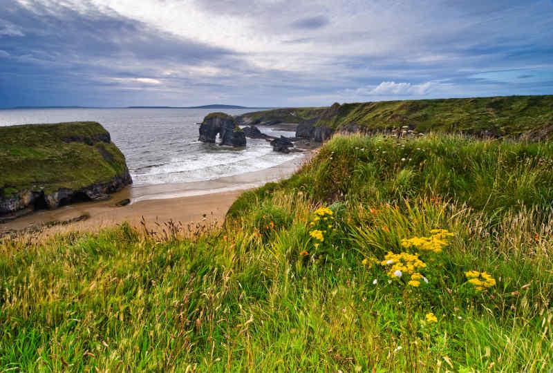 Cliffs in Kerry, Ireland