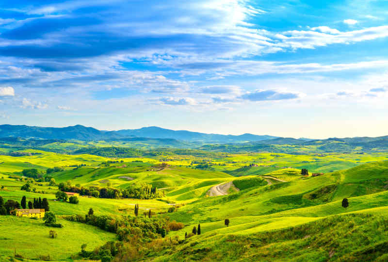 Tuscany's Landscapes & Culinary Treasures