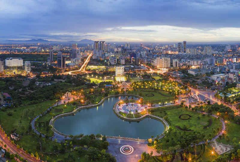 Skyline • Hanoi