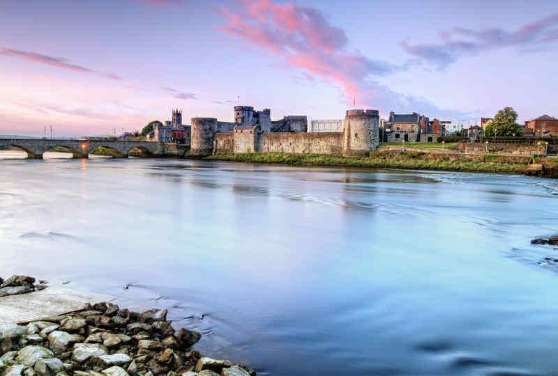 King John's Castle in Limerick, Ireland