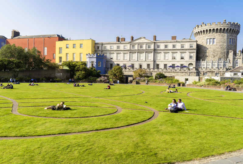 Dublin Castle Courtyard