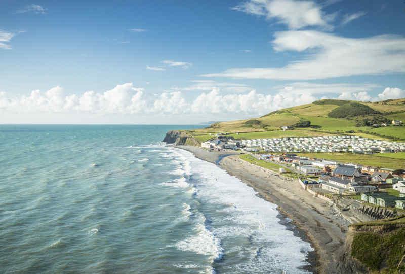 Aberystwyth coast • Aberystwyth, Wales
