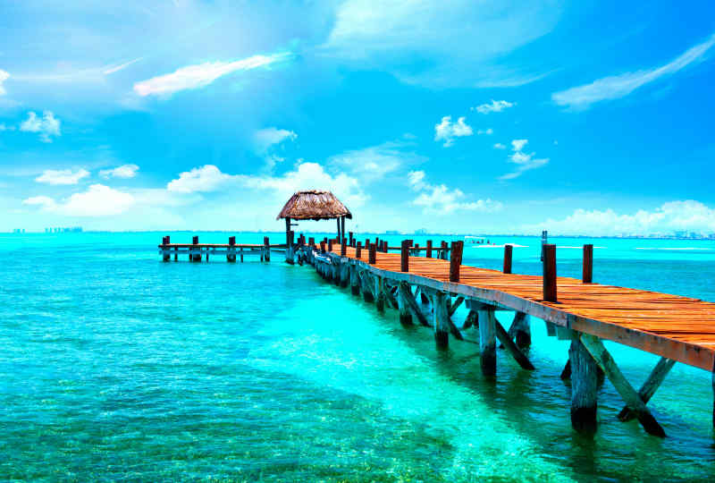 Cancun jetty