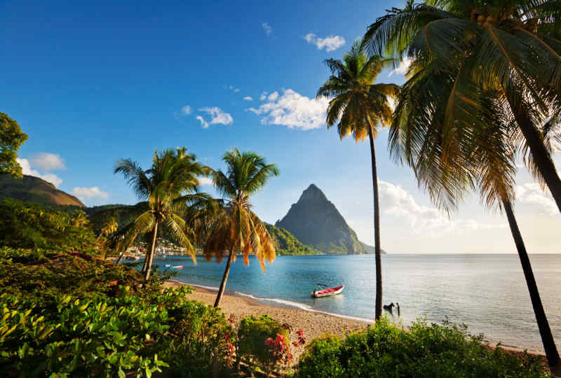Harbor Club St. Lucia, Curio Collection by Hilton view of the Harbor