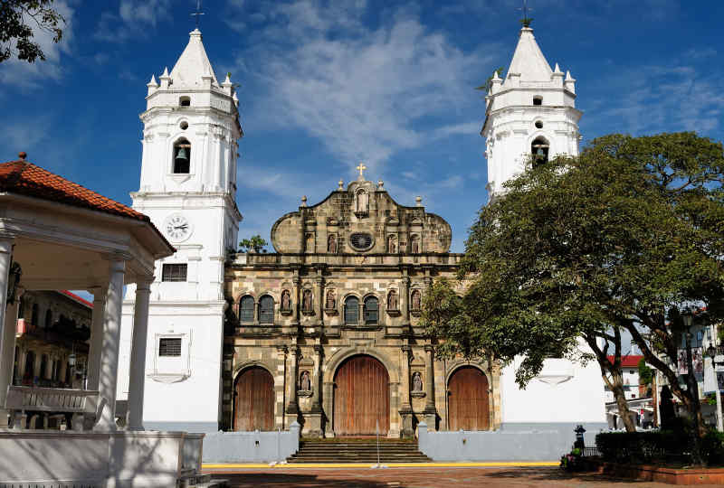 Colonial architecture in Panama City, Panama