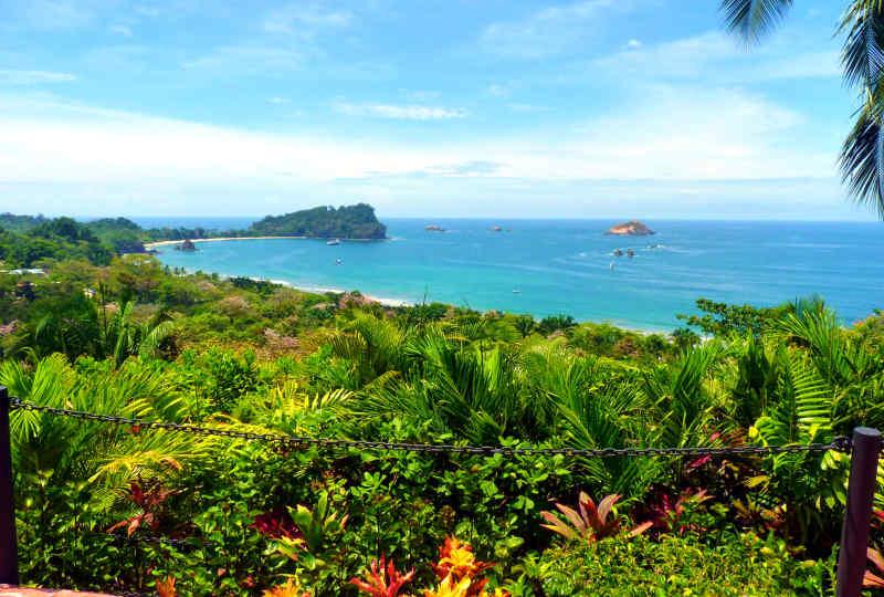 Coast of Manuel Antonio in Costa Rica