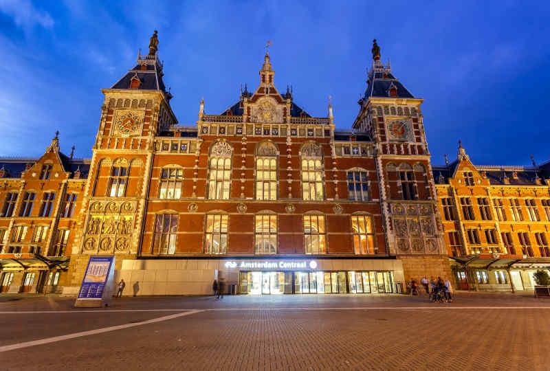 Amsterdam Central Train Station • Amsterdam, Netherlands