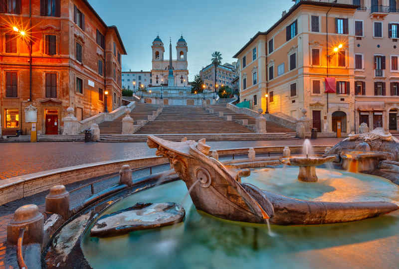 Spanish Steps • Rome