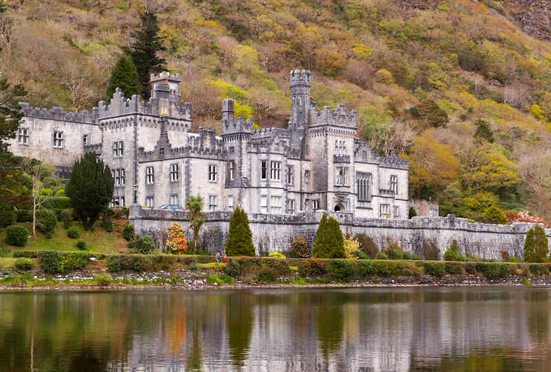Kylemore Abbey in Galway