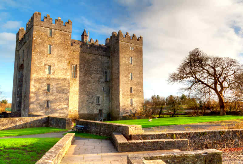 Bunratty Castle in County Clare
