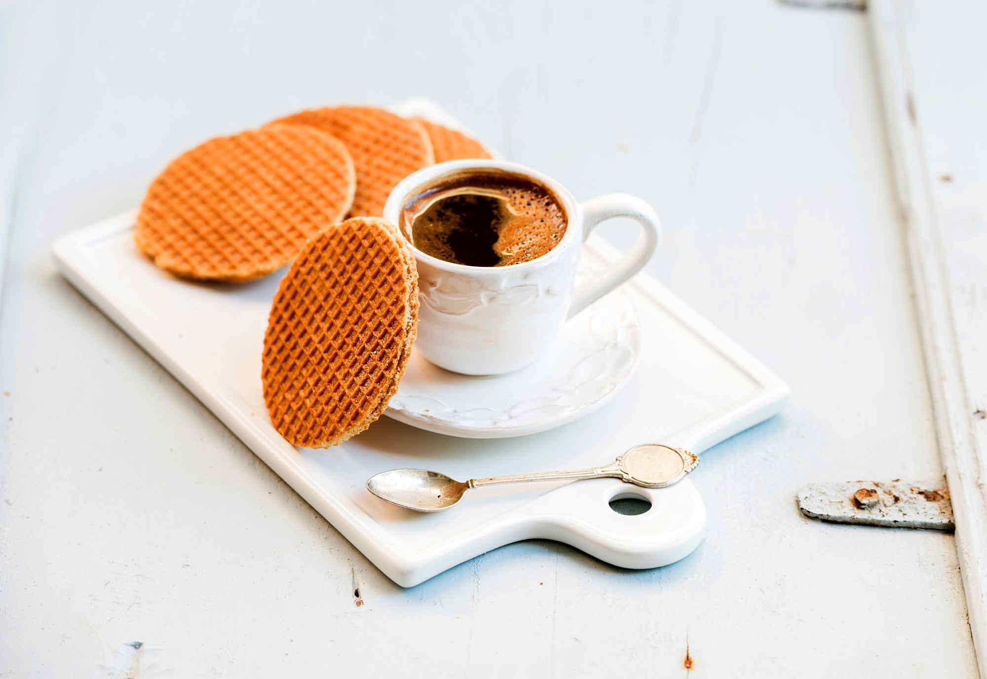 Stroopwafel in the Netherlands