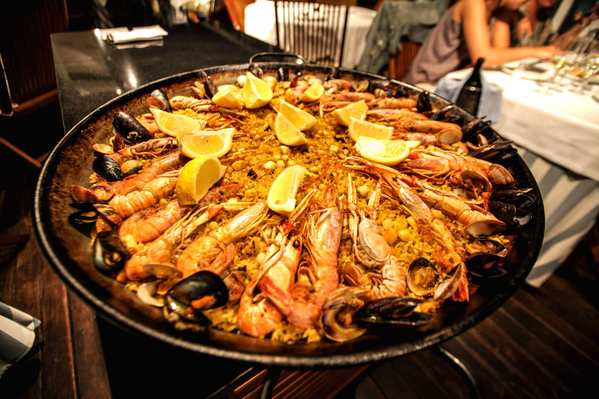 Paella in Valencia, Spain