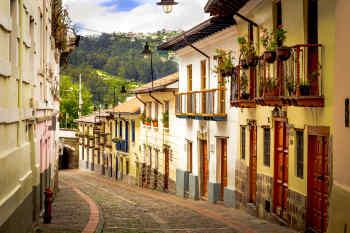La Ronda • Quito, Ecuador