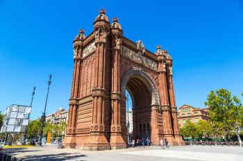 Arc de Triomf • Barcelona, Spain