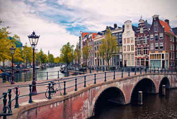 Amstel River, Holland