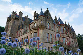 Belfast Castle in Belfast, Northern Ireland