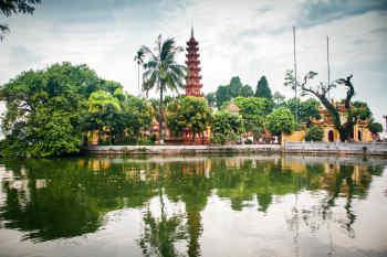 Hanoi • Tran Quoc Temple