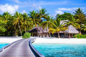 Luxury Resort Footbridge