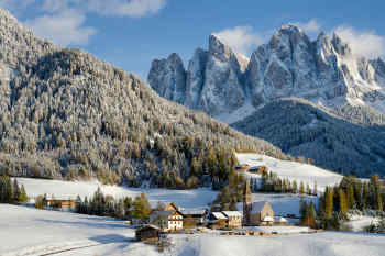 St Magdalena Val di Funes • South Tyrol