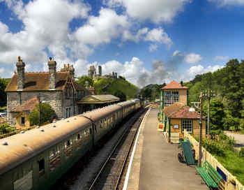 Train in Ireland