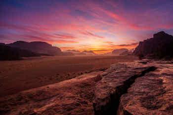 Sunset • Wadi Rum