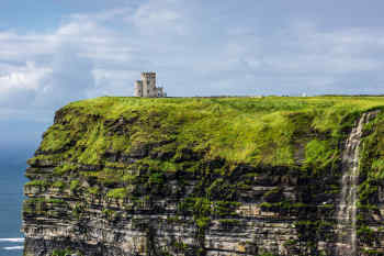 O'Brien's Tower at Cliffs of Moher