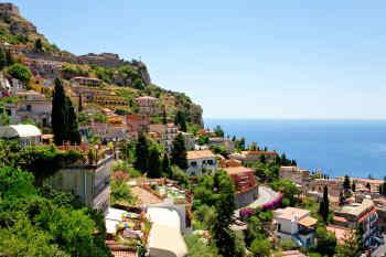 Taormina Coastline