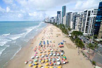 Boa Viagem Beach in Brazil