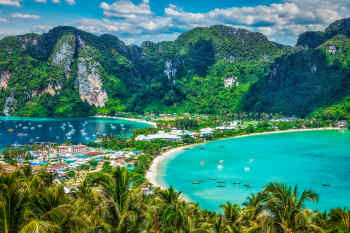 Phi Phi Islands near Phuket, Thailand