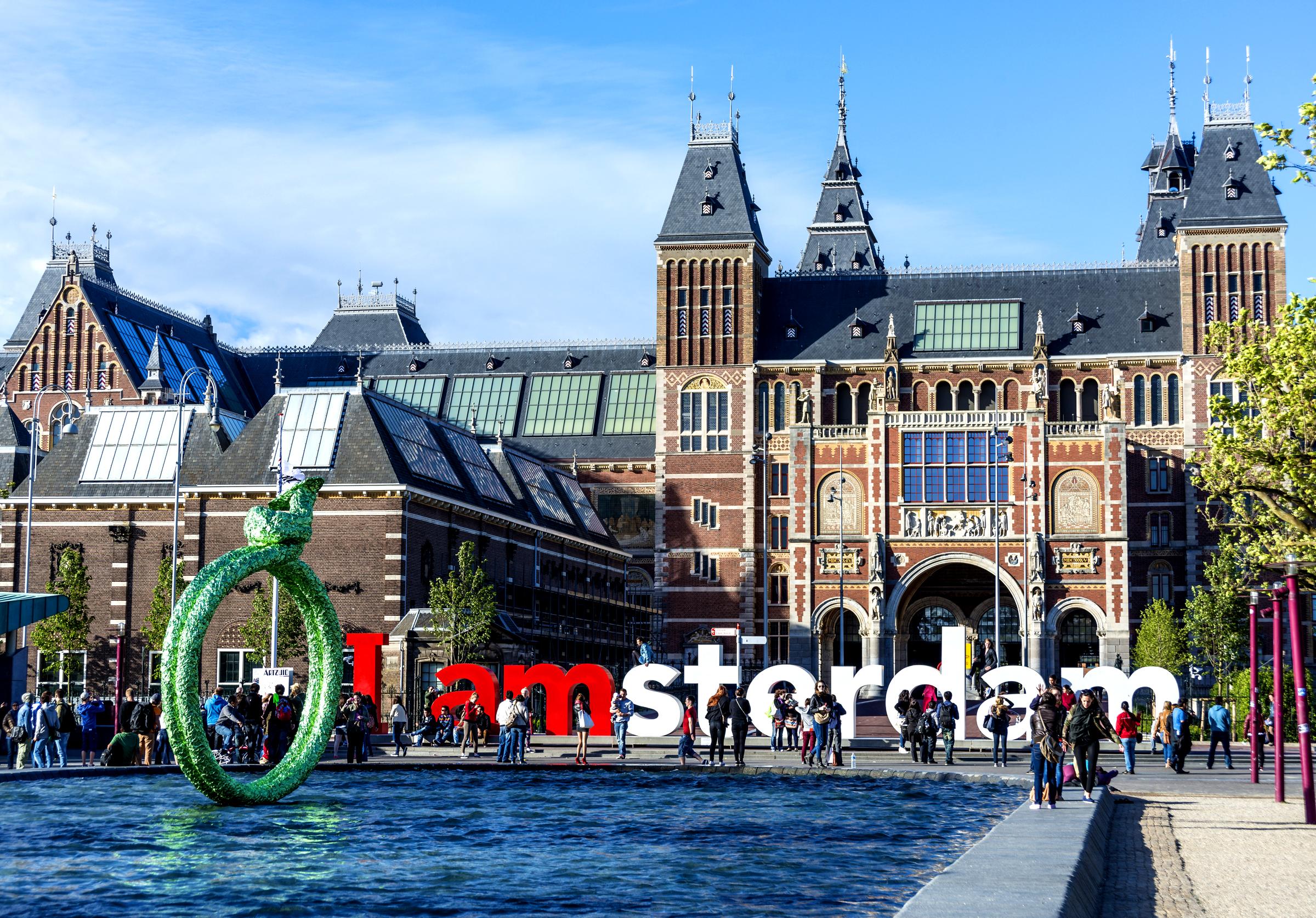 Rijksmuseum in Amsterdam, Netherlands
