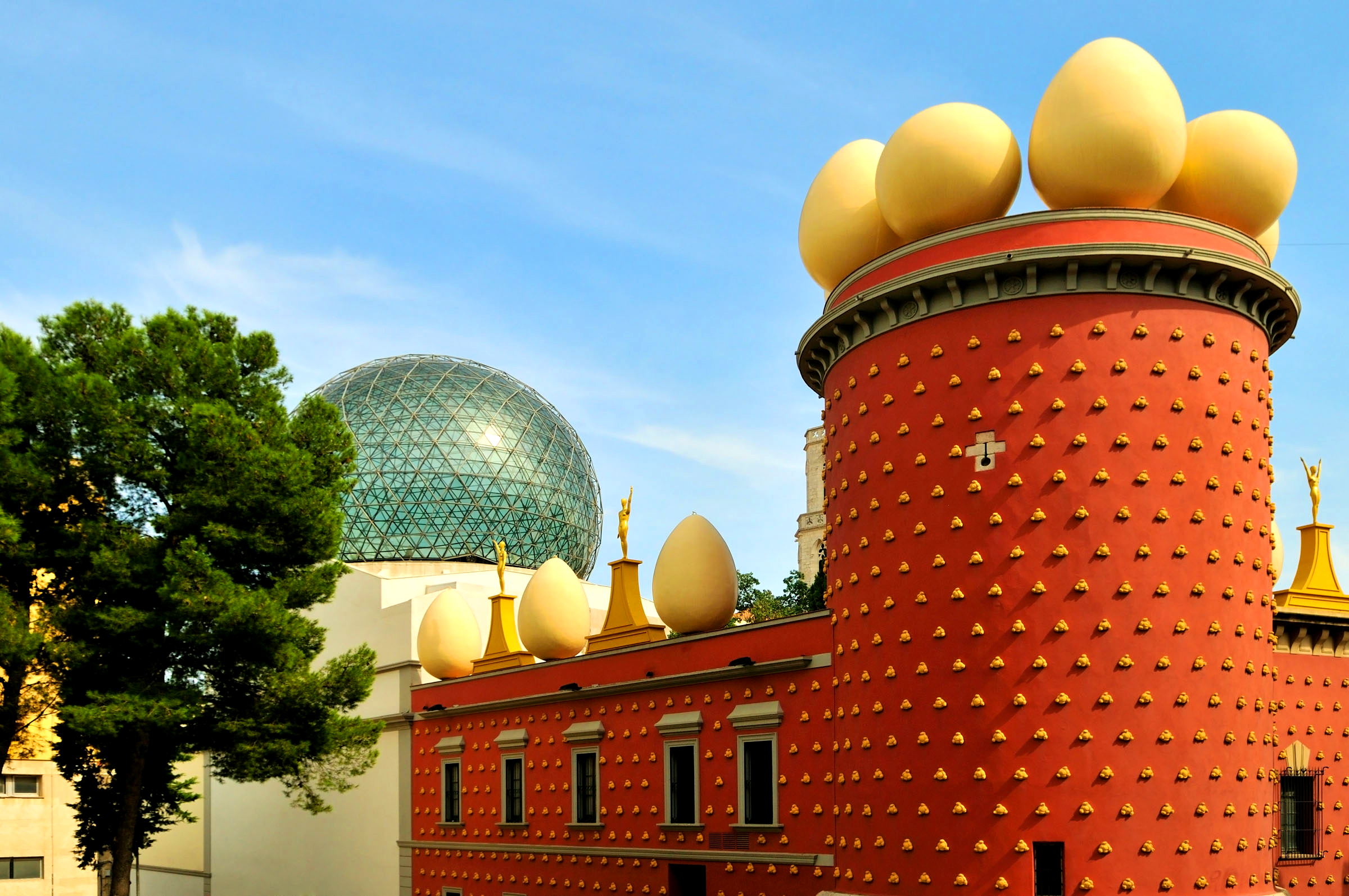 Dali Theatre Museum in Figueres, Spain