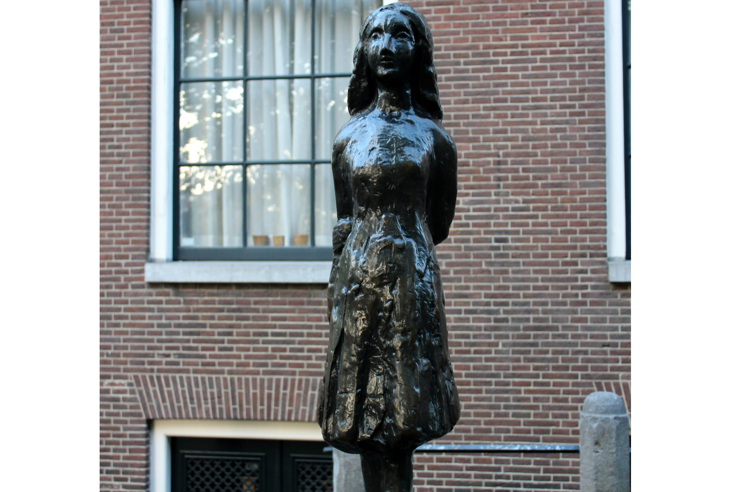 Anne Frank House in Amsterdam, Netherlands