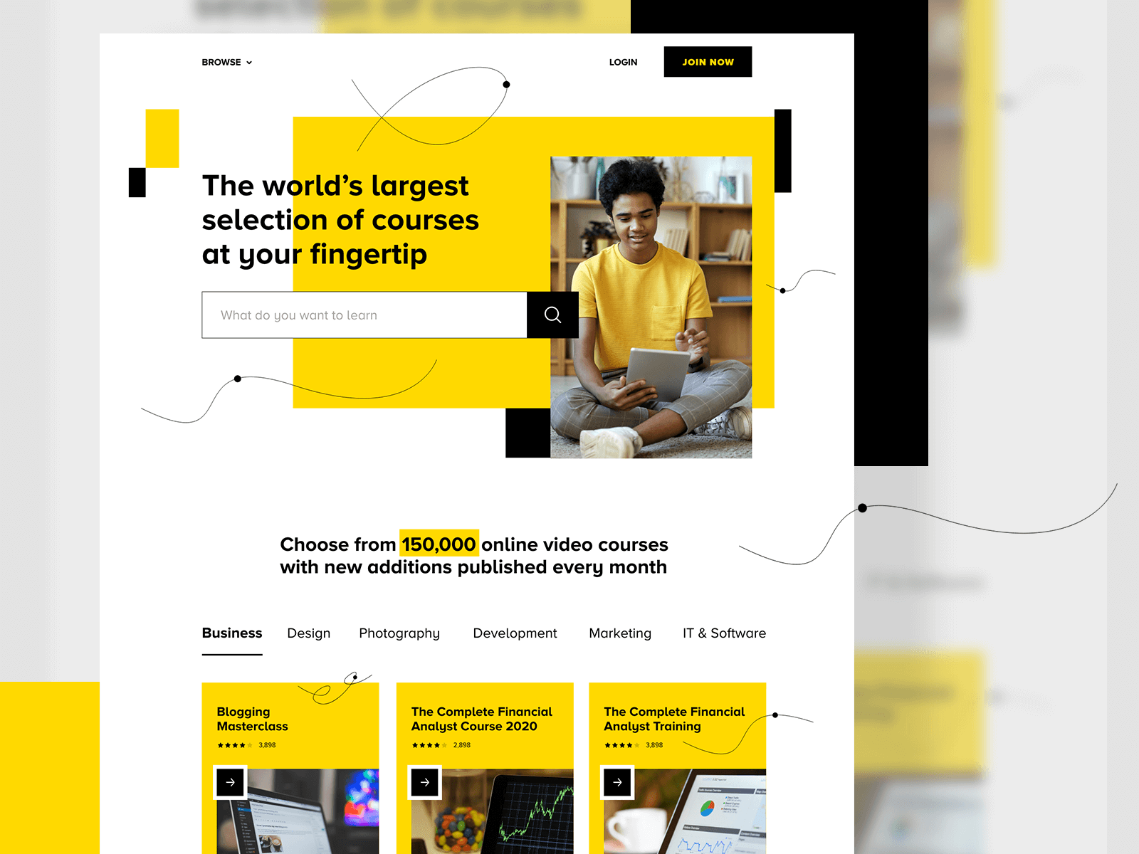 10 Awesome Modern Website Design Inspirations 1