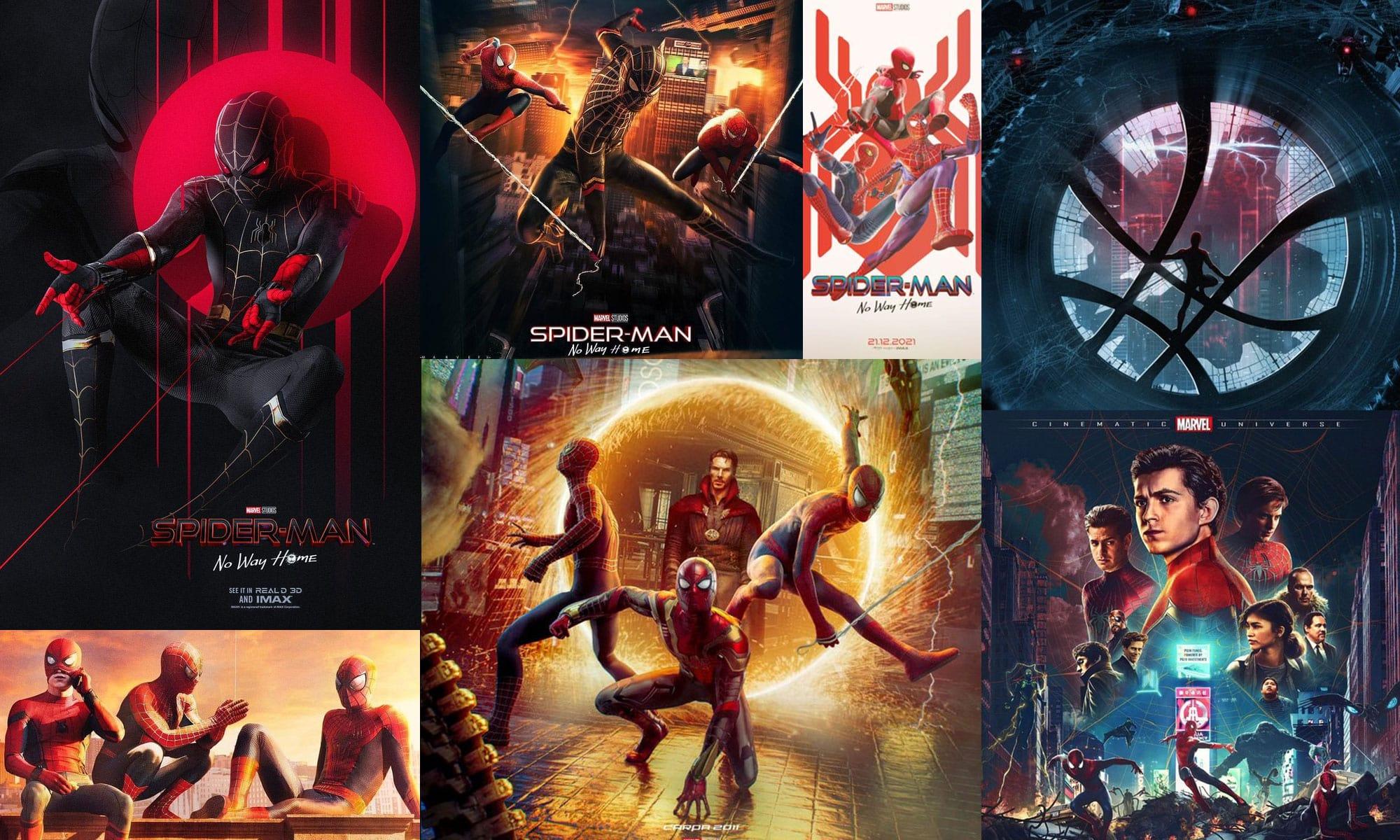 Spider-Man: No Way Home Digital Arts by Fans