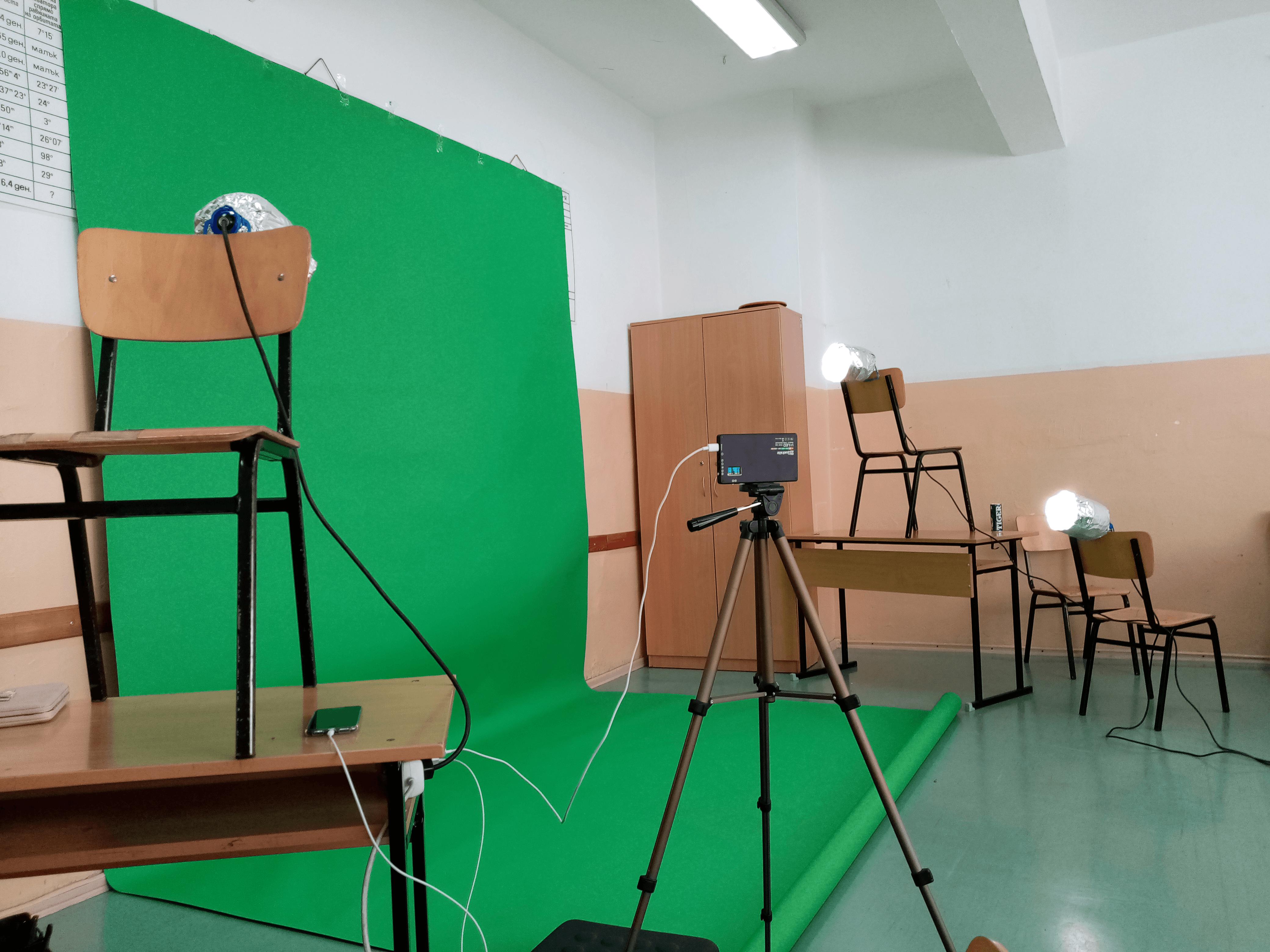 Slide 1 - ППМГ ТВ Сливен - Един ден на снимачната площадка