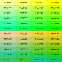 Bảng mã màu HTML, CSS, RGB, CMYK siêu chuẩn