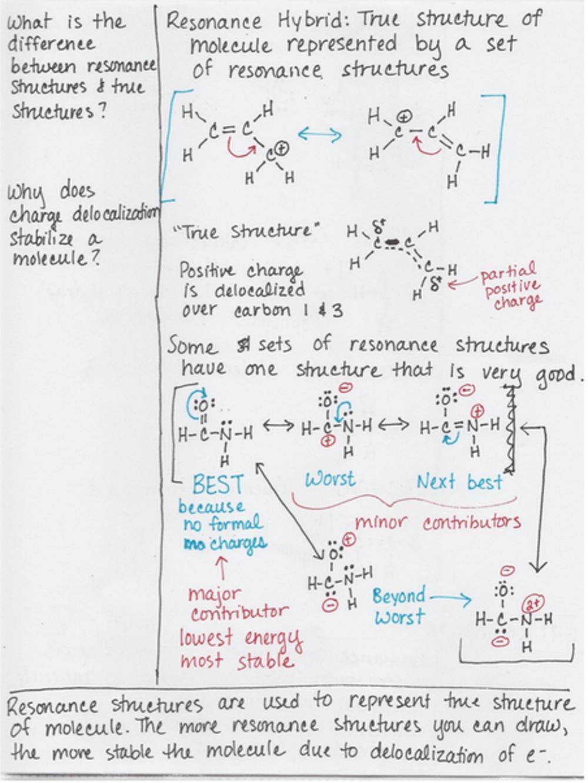 Hình 3: ví dụ cho ứng dụng ghi chú theo phương pháp Cornell của  AVID trong Hóa học