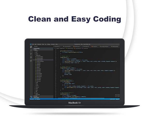 AJ Admin - React Redux Saga Coding